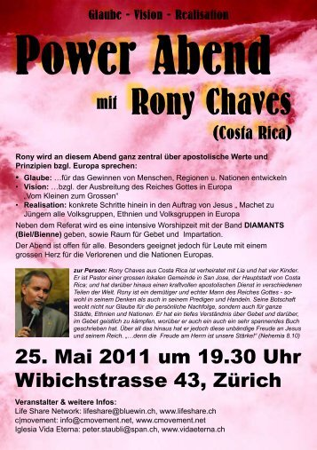 Rony Chaves - Life Share Network