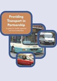 Providing Transport in Partnership - Community Transport Association