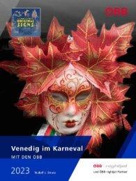 Venedig im Karneval mit den ÖBB