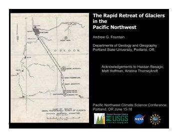 The Rapid Retreat of Glaciers in the Pacific Northwest
