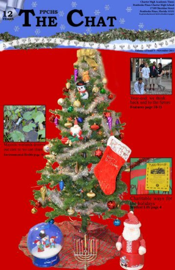 Charitable ways for the holidays - Pembroke Pines Charter Schools ...