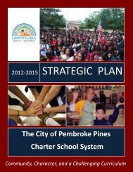 2012-2015 strategic plan - Pembroke Pines Charter Schools > Home