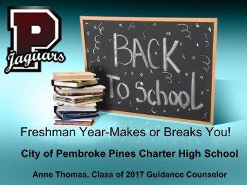 Freshman Parent Workshop - PPCHS