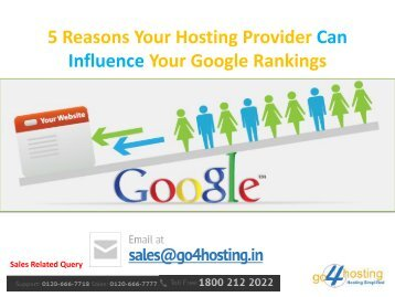 Influence Your Google Rankings