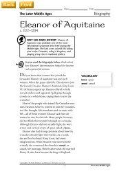 Eleanor of Aquitaine - J-blanchard.org
