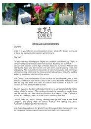 Cowra Three-Day Itinerary Suggestion - Cowra Tourism