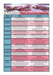 What's on in Cowra September - Cowra Tourism