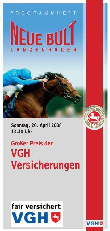 VGH Versicherungen - Hannoverscher Rennverein