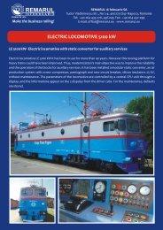 Electric locomotives 5100 KW - Remarul