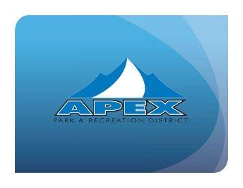 PARK & RECREATION DISTRICT - Apex Park and Recreation District