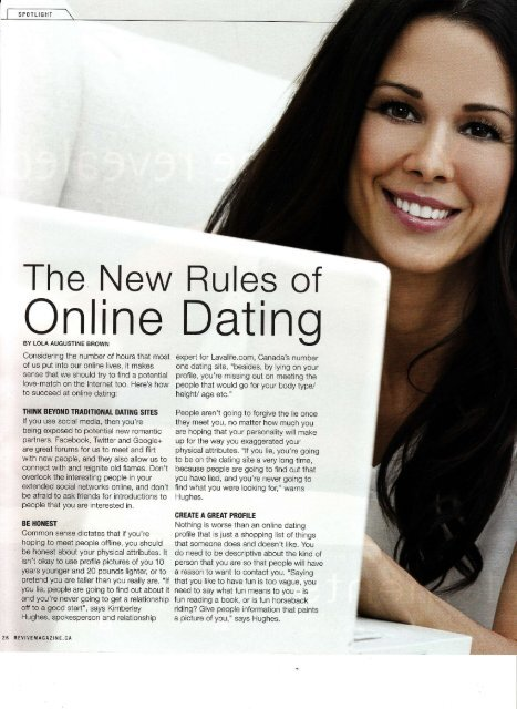 The New Rules of Online Dating - Lola Augustine Brown