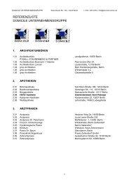liste zum drucken - Domocile Innenausbau GmbH