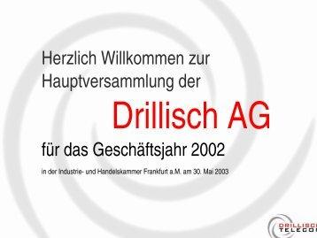 Sprecher - Drillisch AG