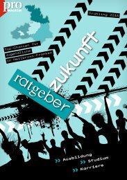 Ratgeber Zukunft (Frühling 2015)