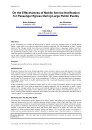 On the Effectiveness of Mobile Service Notification for ... - ISCRAM