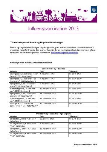 Se her, hvor og hvornår du kan blive vaccineret - mitBUF.dk