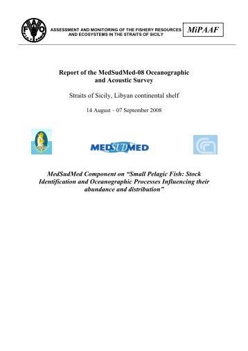 R/V Dallaporta 14/08-7/09/2008 - MedSudMed