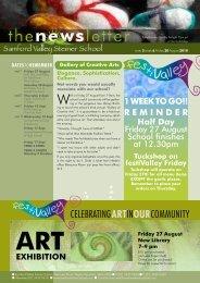 Newsletter Term 2 Week 6 - Samford Valley Steiner School