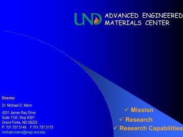 Brochure - Engineering & Mines - University of North Dakota