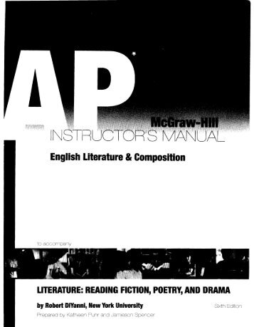 English Literature & Composition - PopulationMe.com