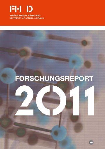 Forschungsreport 2011 - OPUS - hbz