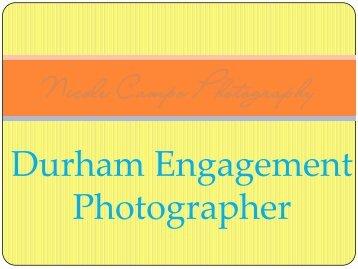 Durham Engagement Photographer