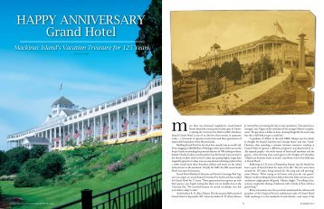 HAPPY ANNIVERSARY Grand Hotel - Michigan Home and Lifestyle