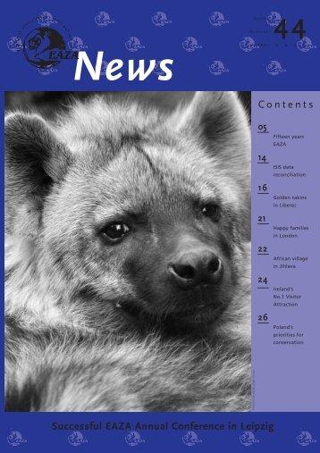News 44 - European Association of Zoos and Aquaria