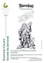 Guide du Joueur - Le Scriptorium