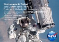 Electromagnetic Testing-Eddy Current-Equipment, Methods and Applications