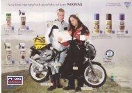 NIKWAX - leták impregnací pro motorkáře - PROTECT