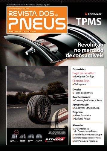 Revista dos Pneus 021 - Maio 2013