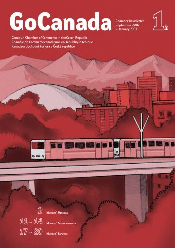 2007 (Issue 1 of 2) - The Canadian Chamber of Commerce in the ...