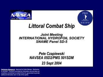 Littoral Combat Ship Littoral Combat Ship - International Hydrofoil ...