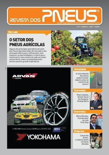 Revista dos Pneus 017 - Abril 2012