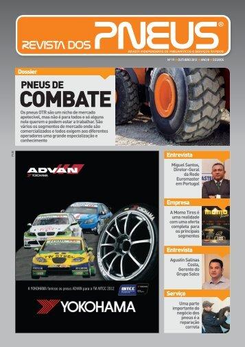 Revista dos Pneus 019 - Outubro 2012