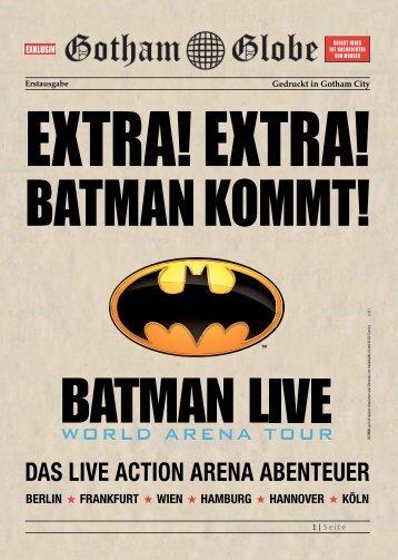 Batman Live - LS Konzertagentur