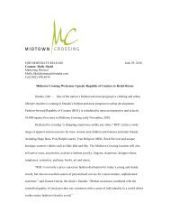 Midtown Crossing Welcomes Upscale Republic of Couture
