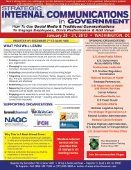 Strategic Internal Communications in Government - Advanced ...