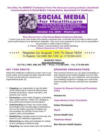 Communications & Social Media Training Series, Specialized For ...