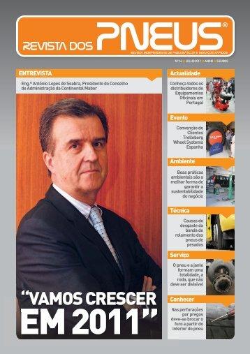 Revista dos Pneus 014 - Julho 2011