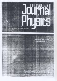Page 1 Page 2 BULGARIAN JOURNAL OF PHYSICS (llulg. J. l'l|_ ...