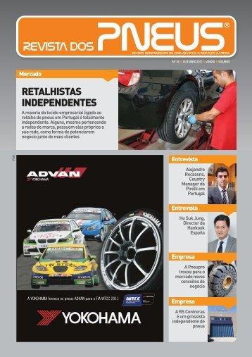 Revista dos Pneus 015 - Outubro 2011