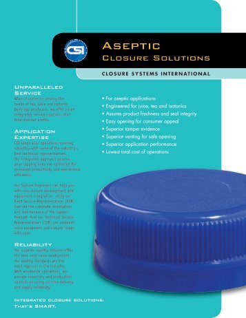Aseptic - Directories