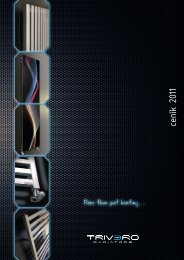 Ceník a katalog 2011 - Genova Bohemia sro