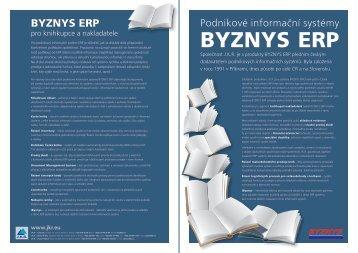 JKR katalog BYZNYS ERP - Pro knihkupce a nakladatele