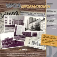 WGS INFORMATIONEN