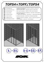 Montážní návod - Koupelny