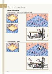 Technická specifikace - Koupelny