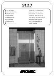 Montážní návod SL13 - Koupelny